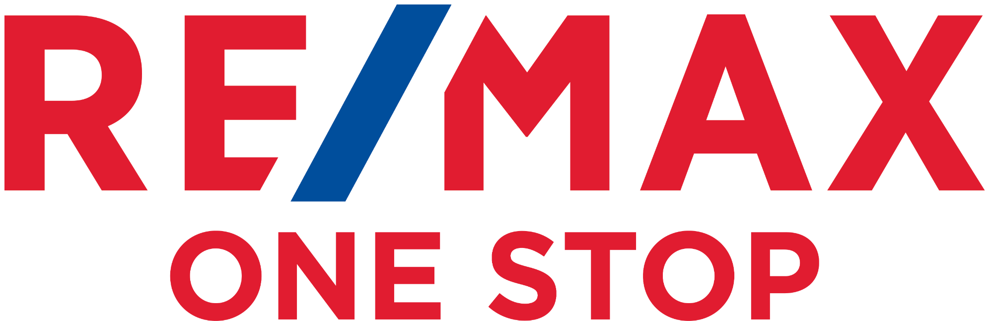 ReMax - Johns Creek - One Stop Logo -  Red