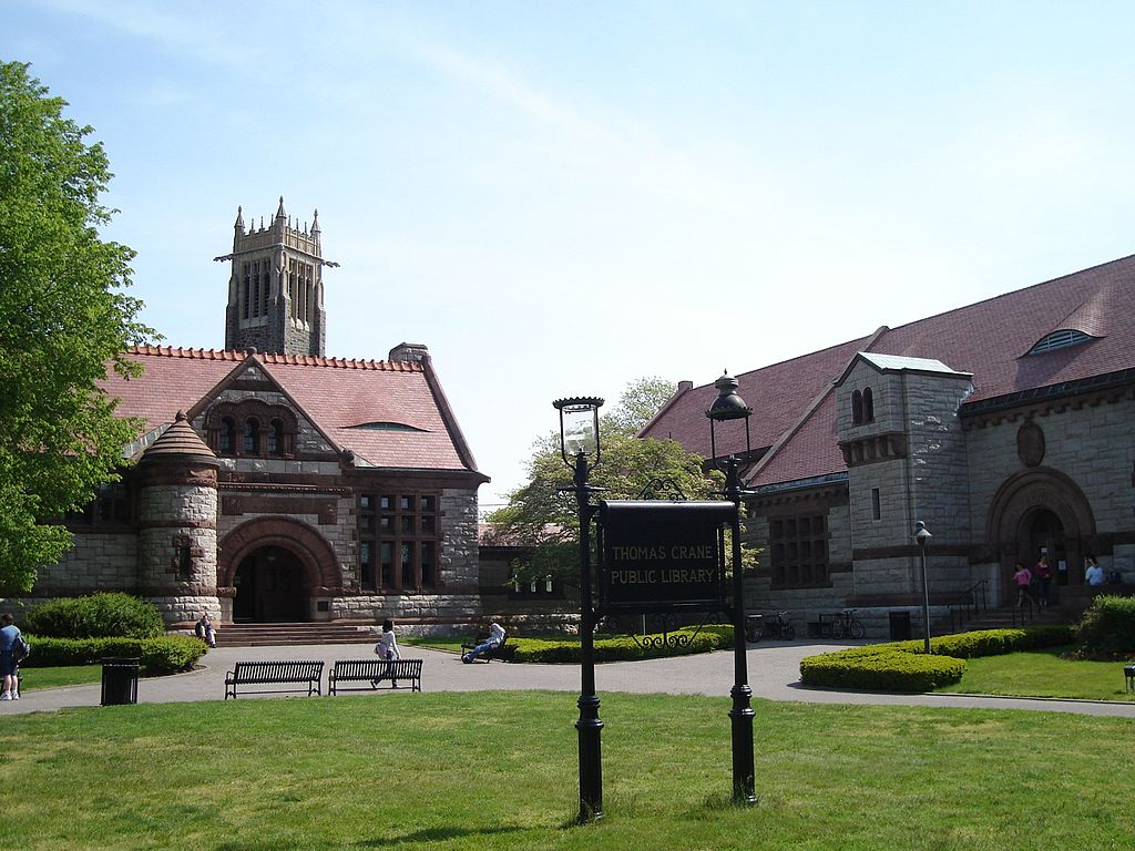 Thomas Crane Public Library Quincy.