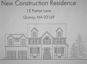 New Construction Quincy MA at Patriot Lane is a four home subdivision of Colonials.