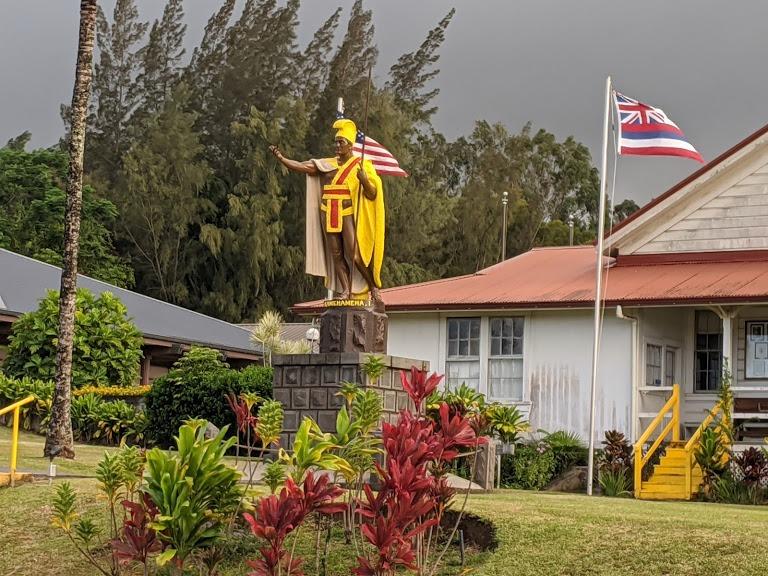 King Kamehama Statue