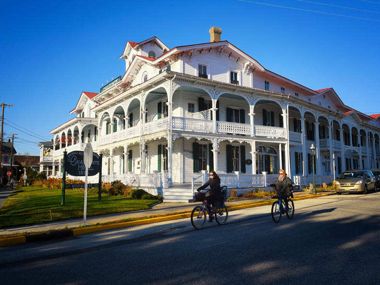 historic hotel in cape may